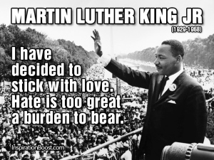 Martin-Luther-King-Jr- Sitck with love