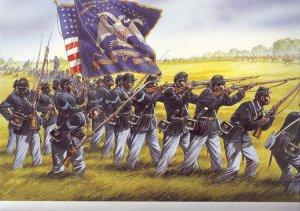 Union colored troops