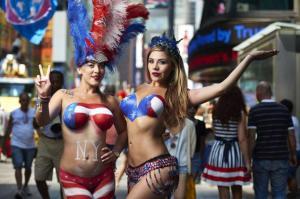 desnudas Times Square