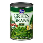 green beans canned Kroger