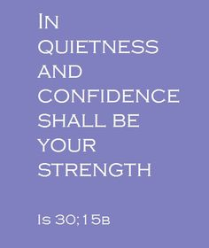 Isaiah 30-15b