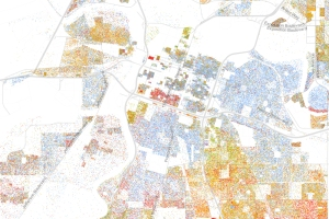 racial map Sacramento