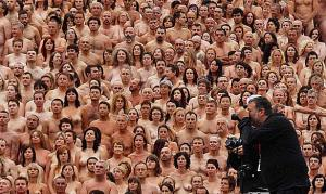 naked art Spencer Tunick