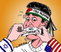 Free Palestine and anti-semitism