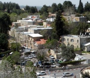 Kfar Shaul, formerly Deir Yassin, now a mental hospital