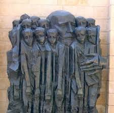 Martyrs of the Holocaust at Yad Vashem. voices.education.org
