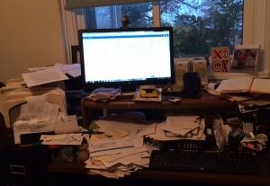 Robin Study desk chaos