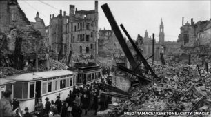 Dresden one year after the bombing