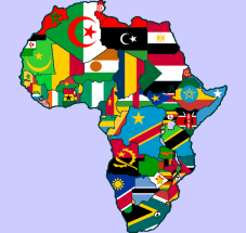 africa-flag-map