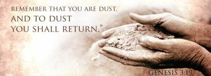 ash Wednesday dust filled hands stmarkscatholicchurch com