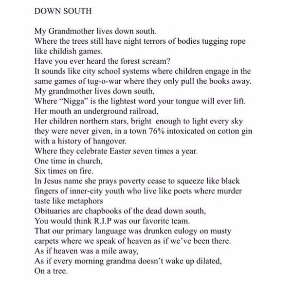 Down South by Marshawn McCarrel