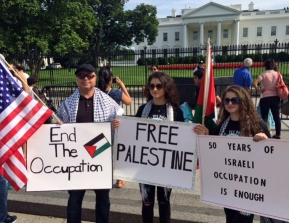 Occupation demo at WH June 4 2017